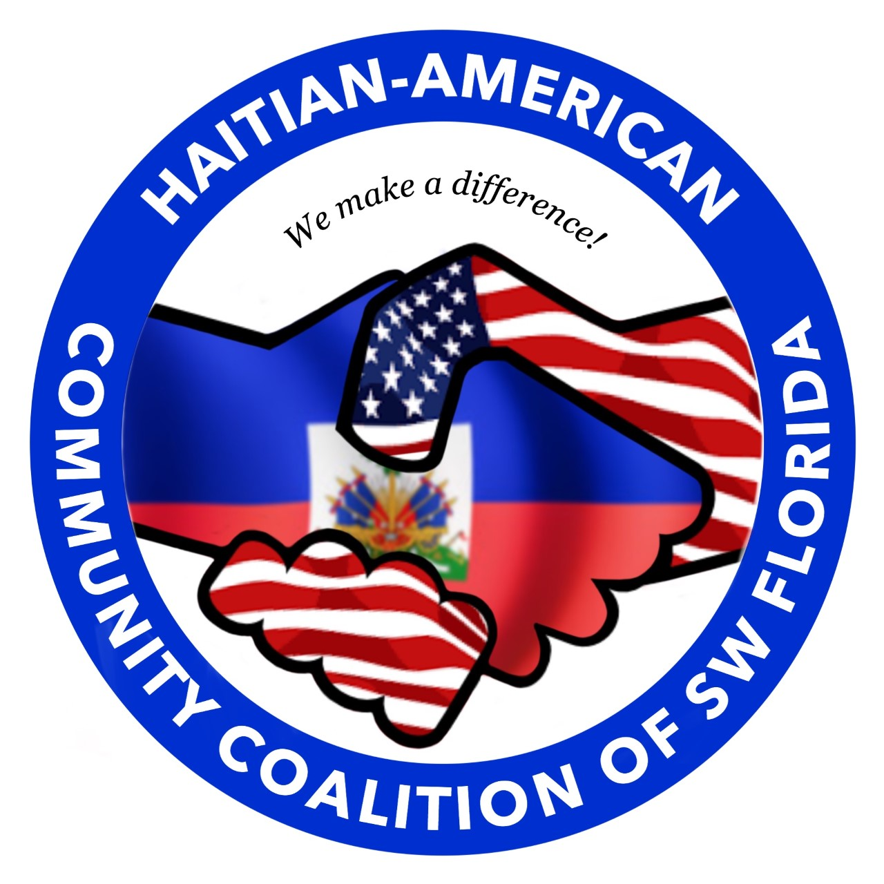 Haitian-American Democratic Club of Lee County Logo